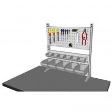 Panneaux établi porte outils largeur 750mm