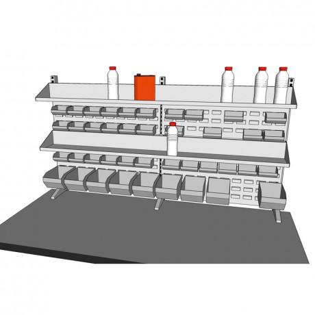 8. Panneaux porte outils largeur 1470mm
