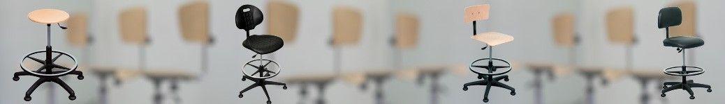 Chaises d'atelier et tabouets